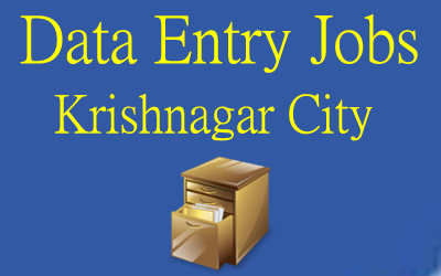 data entry jobs in Krishnagar