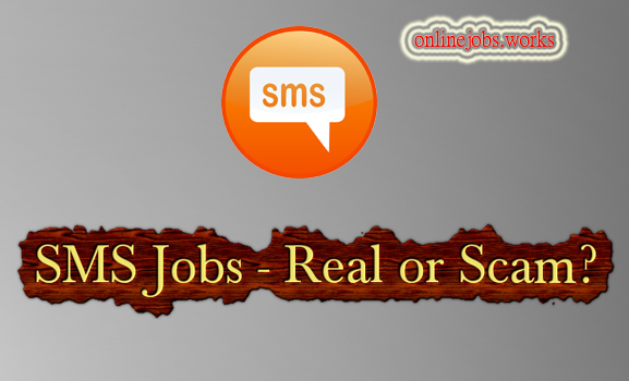 SMS Sending Jobs Real or Scam