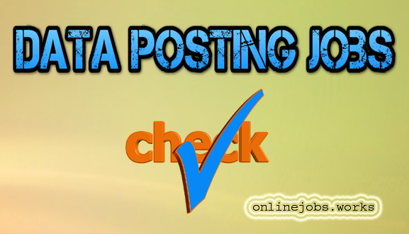 Data posting jobs review