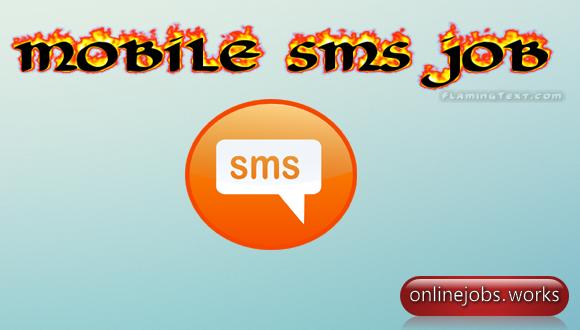 mobile sms job
