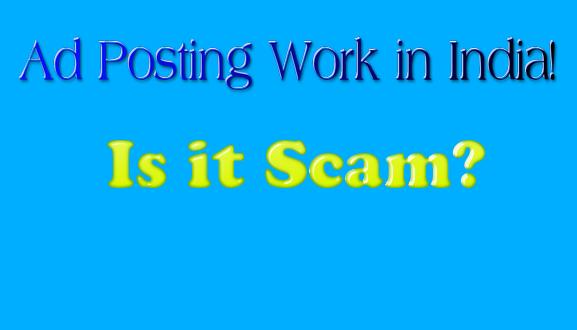ad posting jobs scam