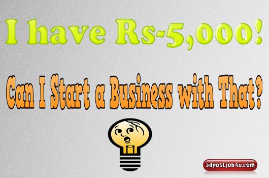 Business Idea under 5K